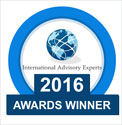 Winner International Advisory award 2016