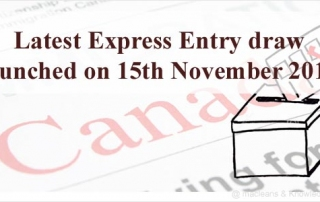 Canada Express Entry Draw 2017