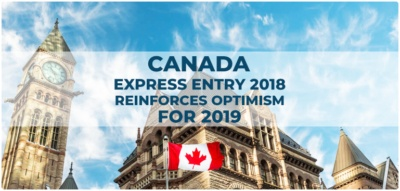Canada Express Entry 2018 reinforces optimism for 2019