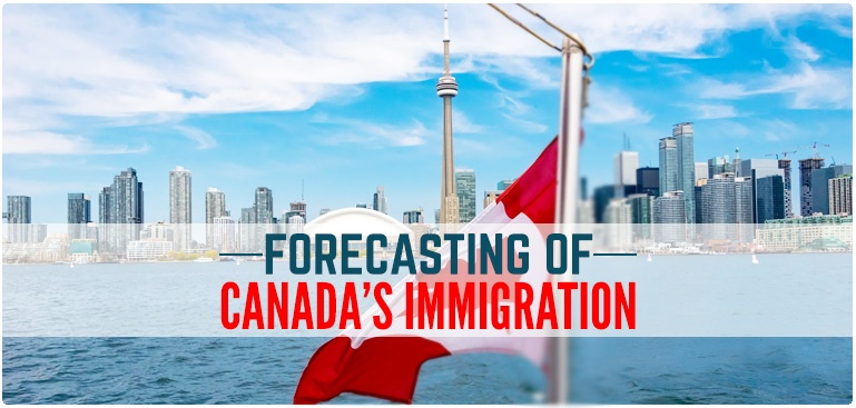 Forecasting of Canada's immigration