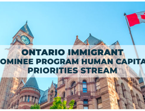 Ontario Immigrant Nominee Program Human Capital Priorities Stream