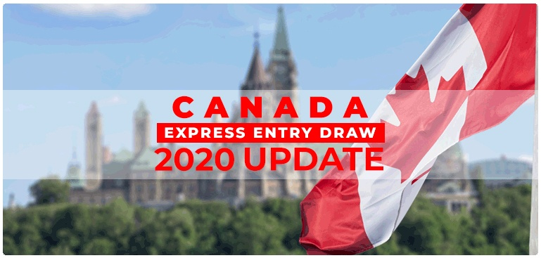Canada Express Entry draw 2020 Update