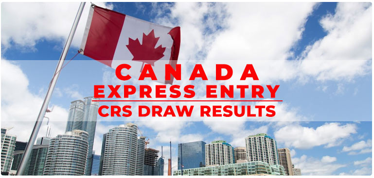Canada Express Entry CRS Draw Results
