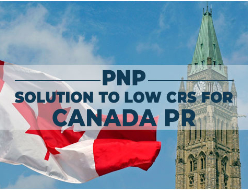 PNP: Solution to Low CRS for Canada PR