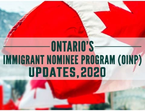 Ontario's Immigrant Nominee Program (OINP) Updates, 2020