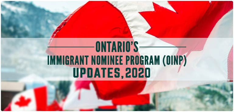 Ontario's Immigrant Nominee Program (OINP) allocated admission target of 13,300 in 2022 under the Provincial Nominee Program.