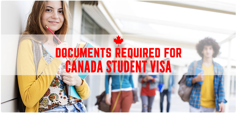 Canada Student Visa documents