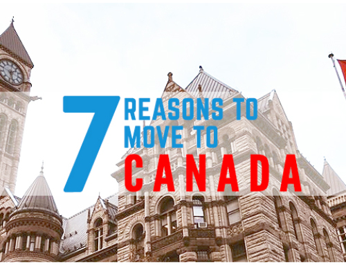 Top 7 reasons to Move to Canada: