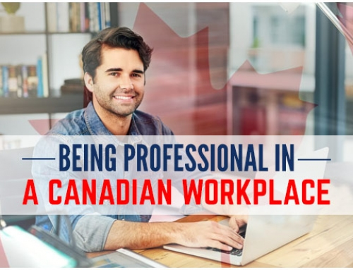 Being professional in a Canadian workplace