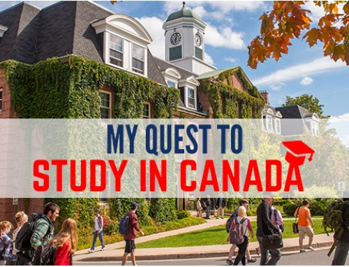 My quest to study in Canada