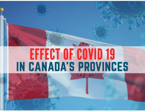 Effects of Corona Virus in Canadian provinces