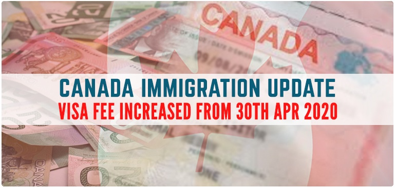 Canada Immigration Processing Fee 2020 Updates