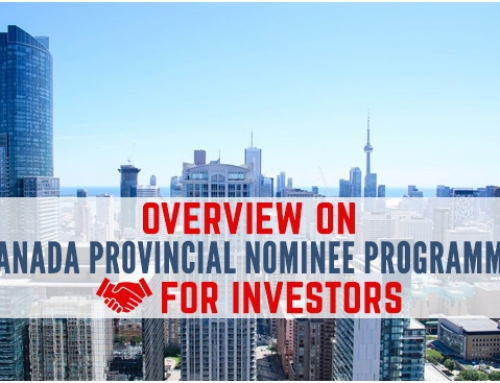 Overview on Canada Provincial Nominee programme for Investors